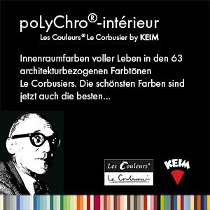keim polychro les couleurs le corbusiers form und farbe ehmann. Black Bedroom Furniture Sets. Home Design Ideas